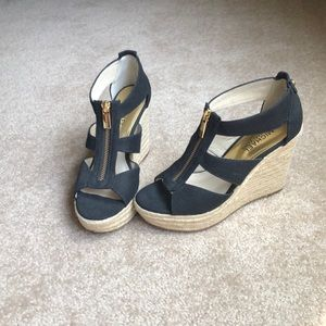 Mk woman's wedges